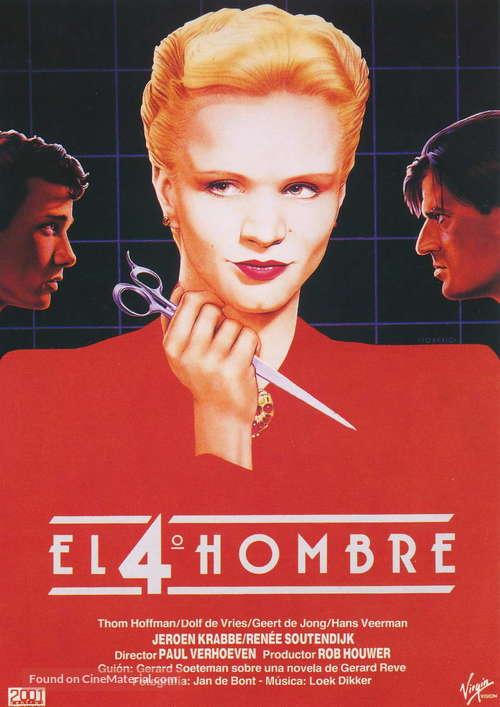 De vierde man - Spanish Movie Poster
