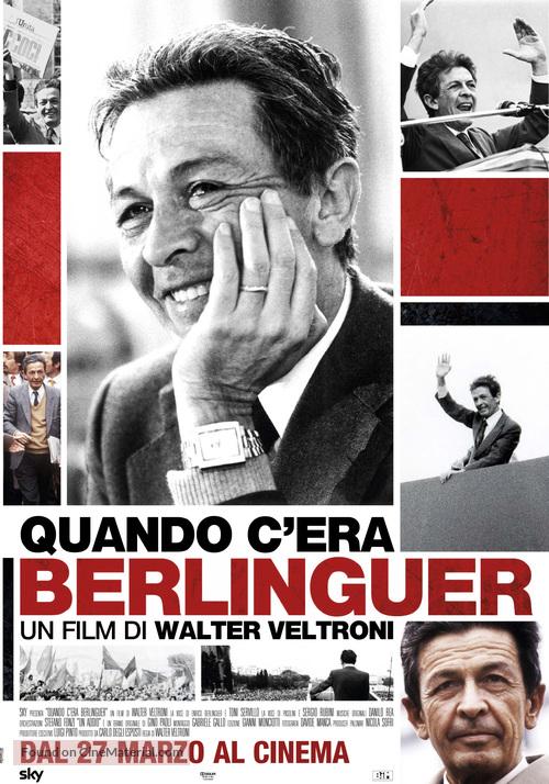 Quando c'era Berlinguer - Italian Movie Poster