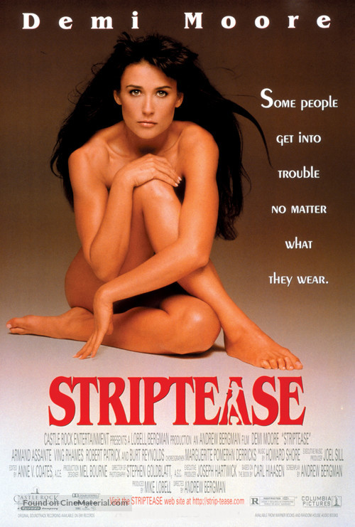 Striptease - Movie Poster