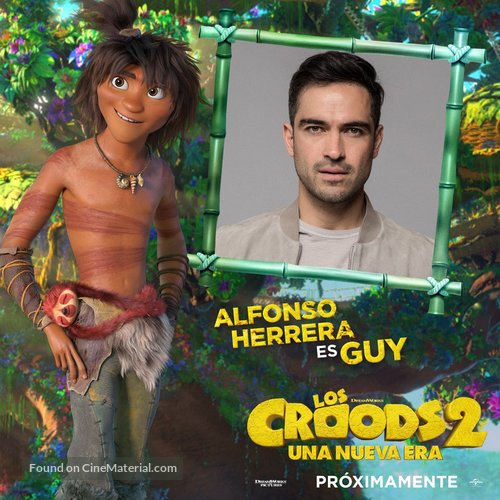 The Croods: A New Age - Mexican Movie Poster