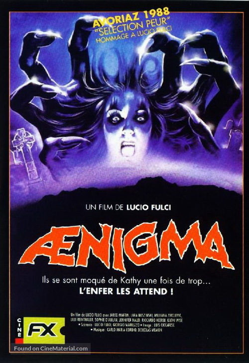 Aenigma - French DVD movie cover