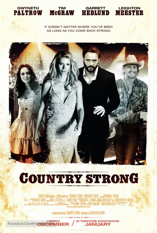 Country Strong - Movie Poster