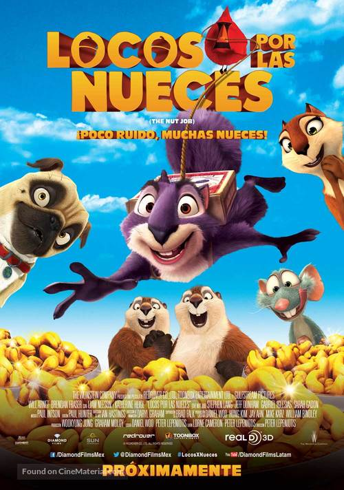 The Nut Job - Mexican Movie Poster
