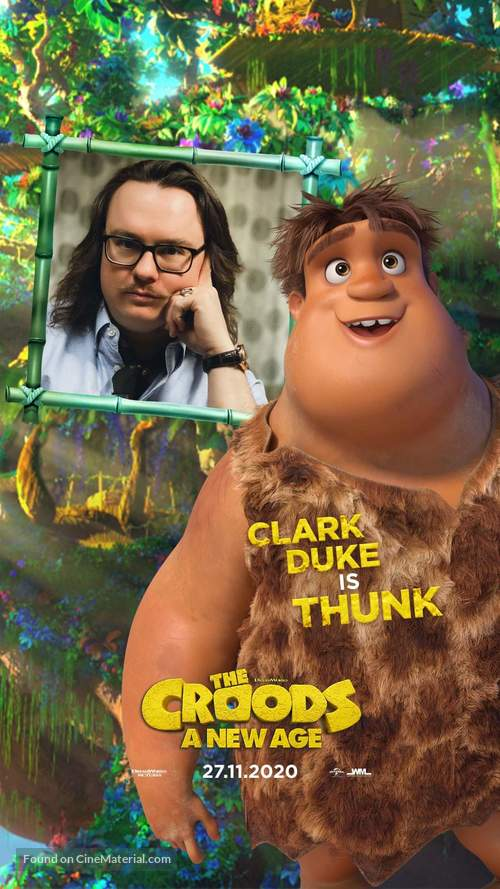 The Croods: A New Age -  Movie Poster