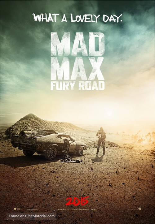 Mad Max: Fury Road - Movie Poster