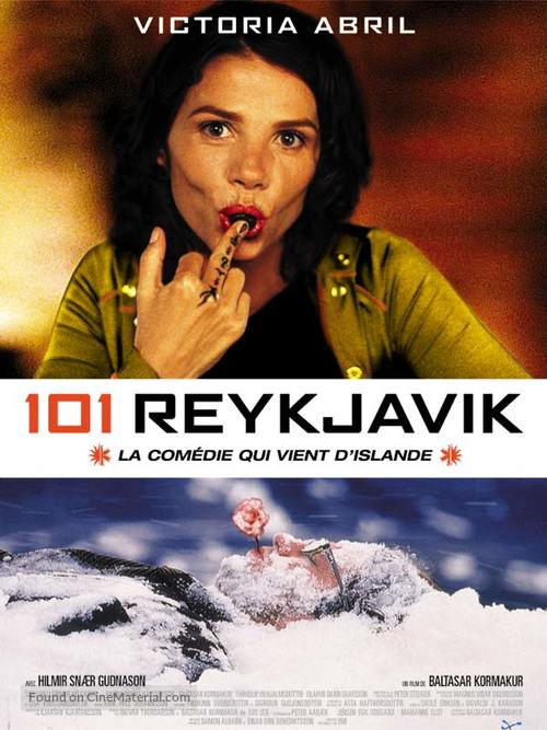 101 Reykjavík - French Movie Poster