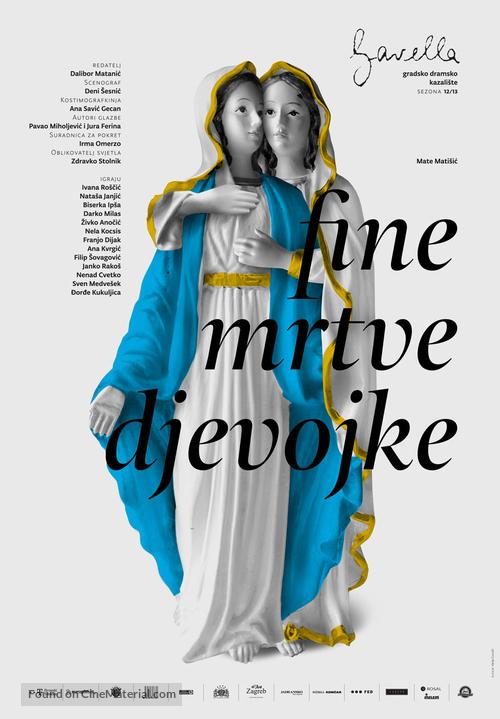 Fine mrtve djevojke - Croatian Movie Poster
