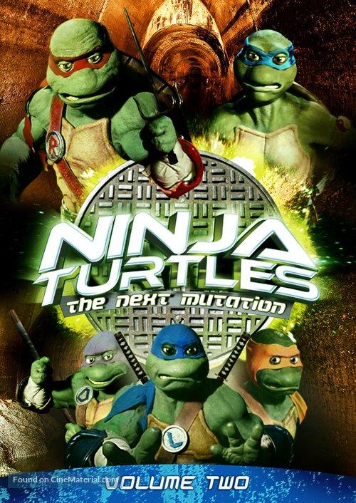 """Ninja Turtles: The Next Mutation"" - DVD movie cover"