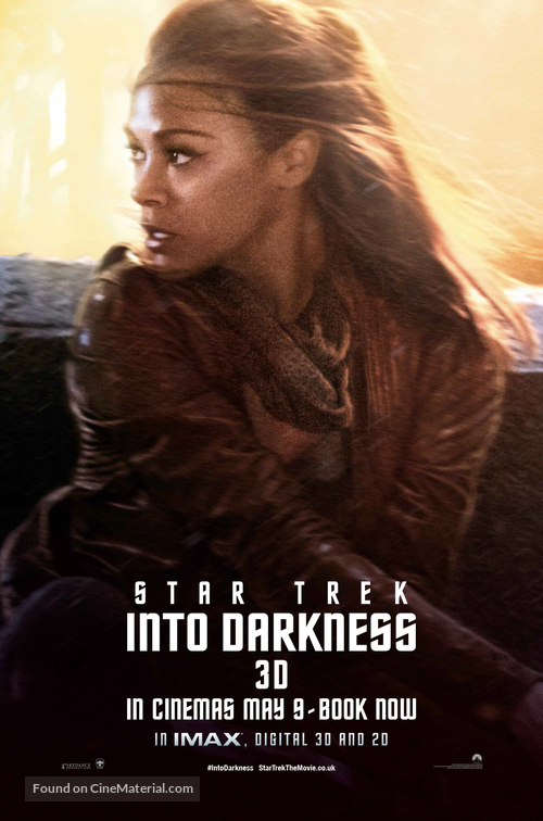 Star Trek Into Darkness - British Movie Poster