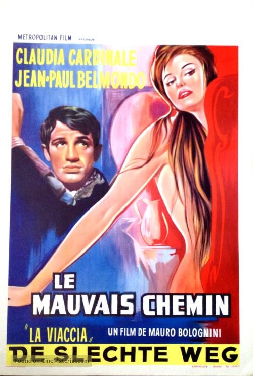 La viaccia - Belgian Movie Poster