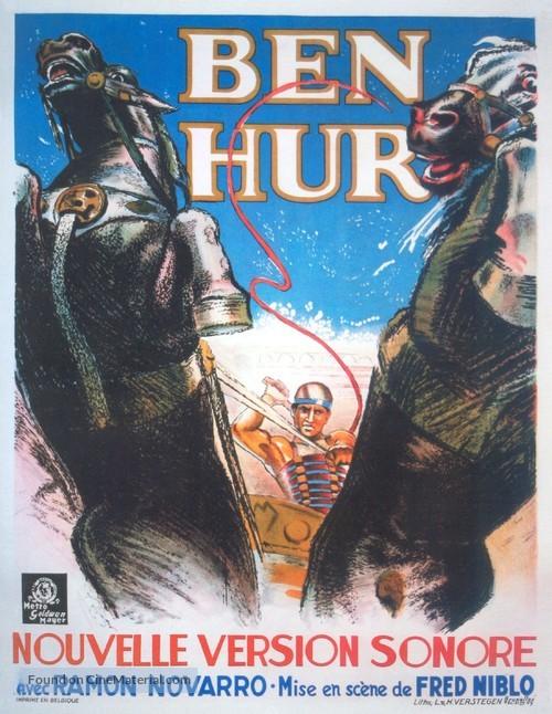 Ben-Hur - Belgian Movie Poster