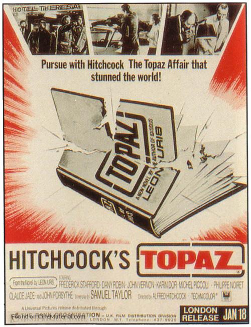 Topaz - British Movie Poster