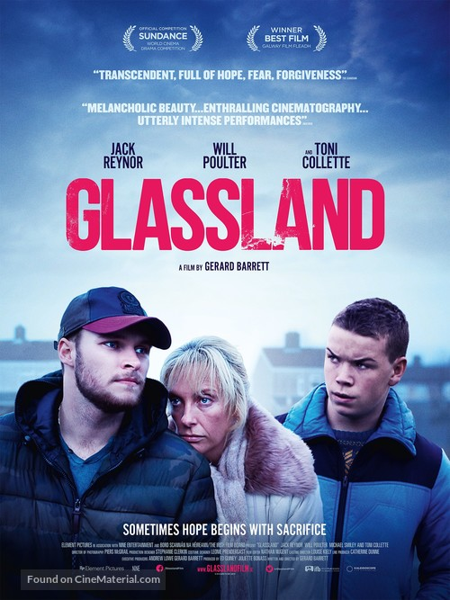 Glassland - British Movie Poster