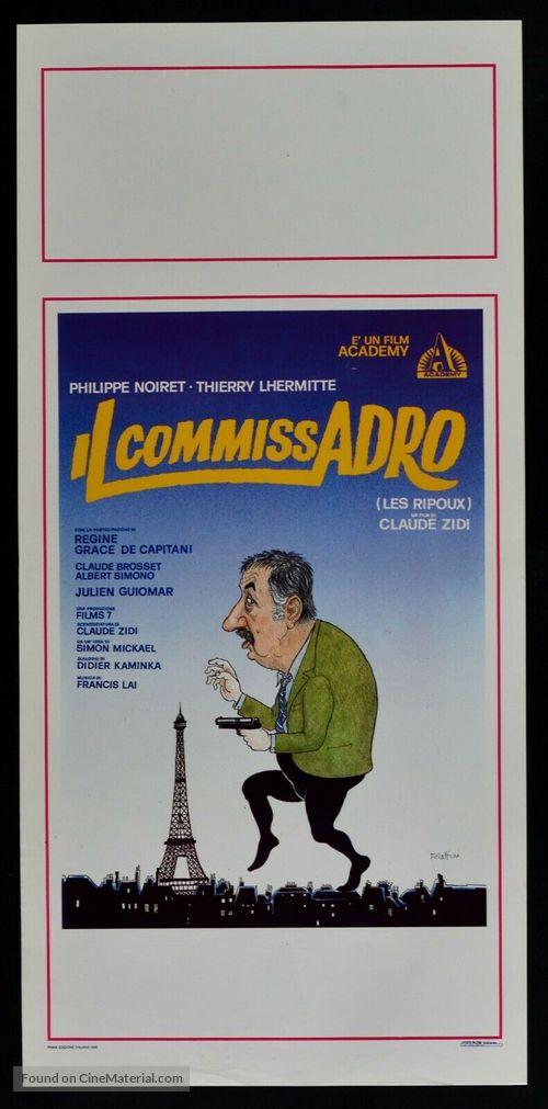 Les ripoux - Italian Movie Poster