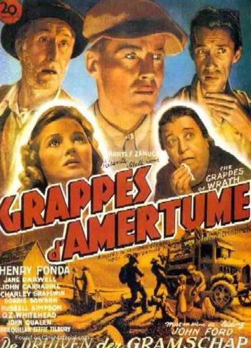 a review of the movie the grapes of wrath Like any number of film lovers in the making, i delighted in riling my father with our pronounced differences in taste the conflict has to be universal, familiar in one way or another to every.