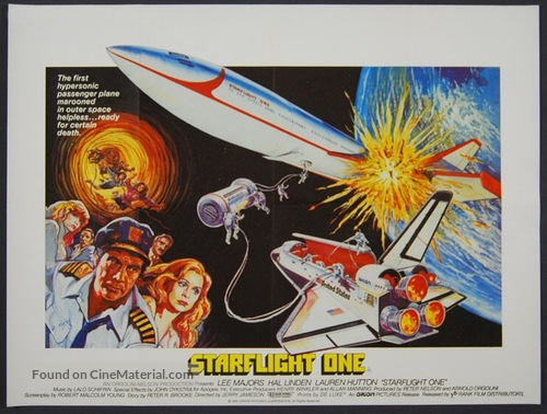 Starflight: The Plane That Couldn't Land - British Movie Poster