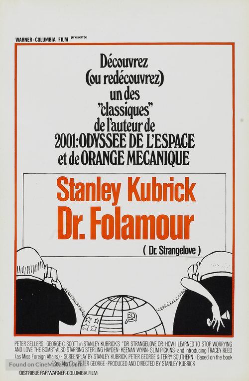 Dr. Strangelove - Belgian Movie Poster