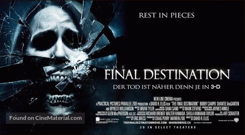 The Final Destination - Swiss Movie Poster