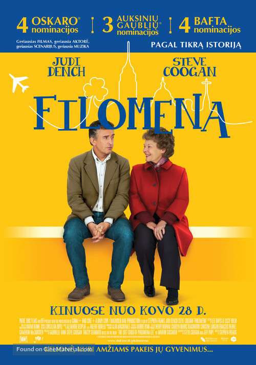 Philomena - Lithuanian Movie Poster
