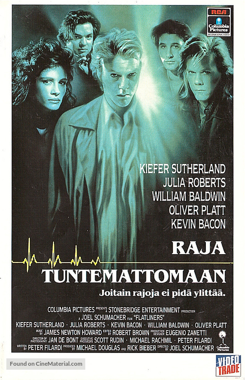 Flatliners - Finnish VHS movie cover