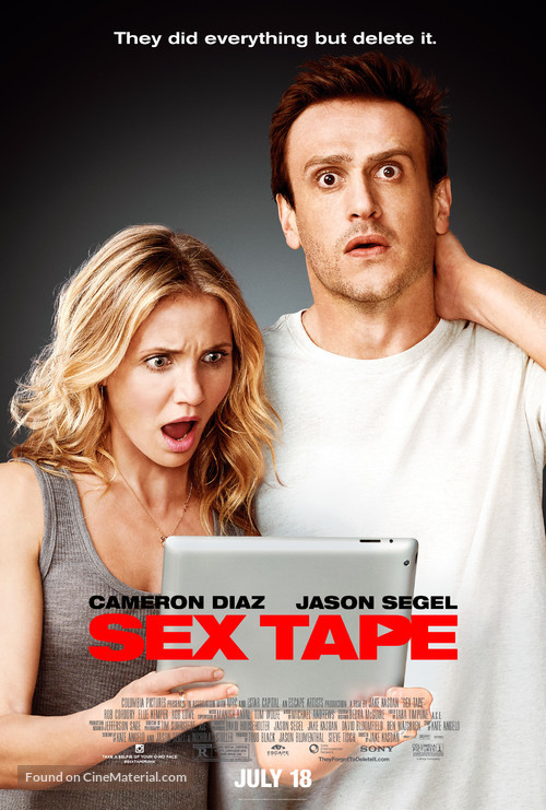 Sex Tape - Theatrical movie poster