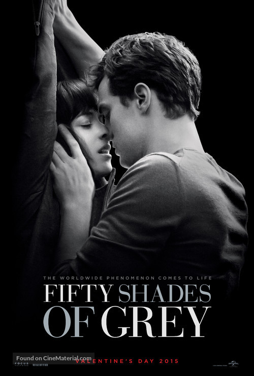 Fifty Shades of Grey - Theatrical movie poster