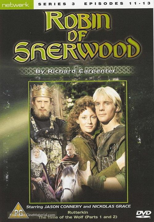 """Robin of Sherwood"" - British DVD movie cover"