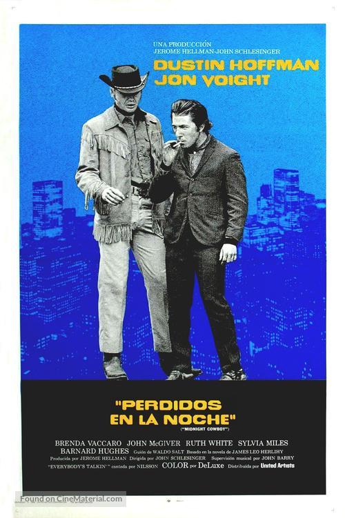 Midnight Cowboy - Argentinian Movie Poster