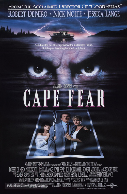 Cape Fear - Movie Poster