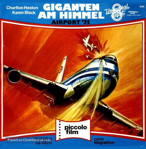 Airport 1975 - German DVD movie cover