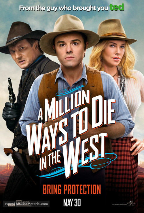 A Million Ways to Die in the West - Movie Poster