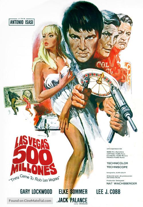 Las Vegas, 500 millones - Spanish Movie Poster