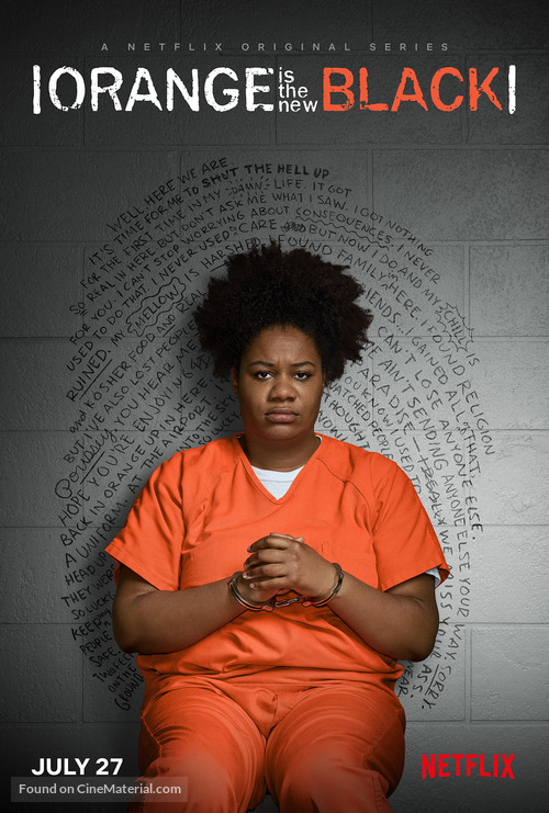 """Orange Is the New Black"" - Movie Poster"
