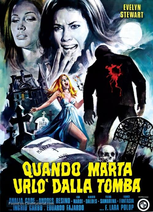 Mansión de la niebla, La - Italian Movie Poster