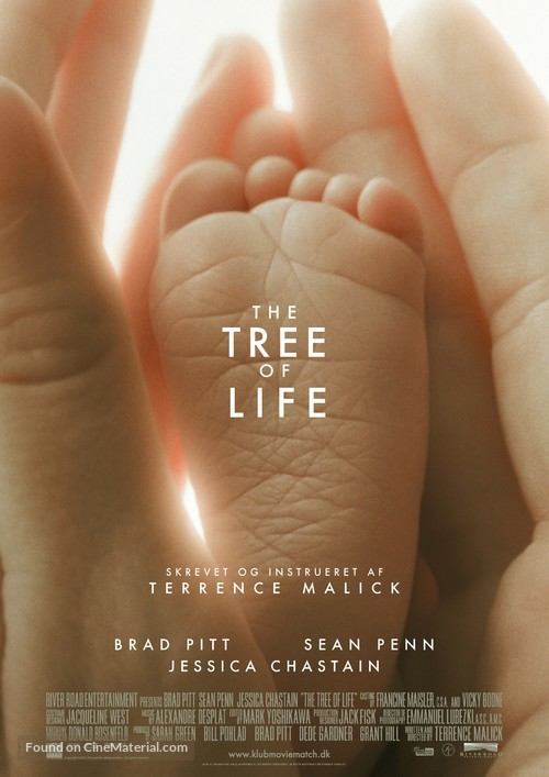 The Tree of Life - Danish Movie Poster