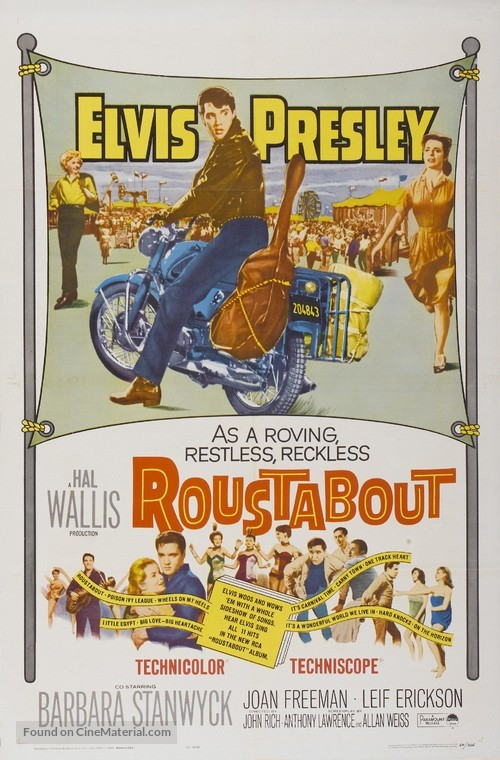 Roustabout - Movie Poster
