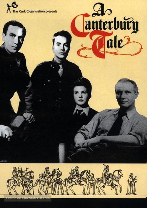 A Canterbury Tale - British DVD movie cover