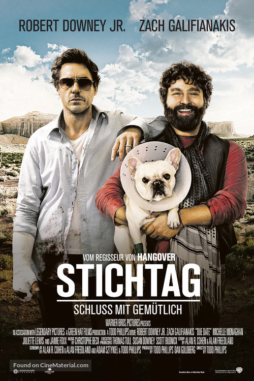 Due Date - Swiss Movie Poster