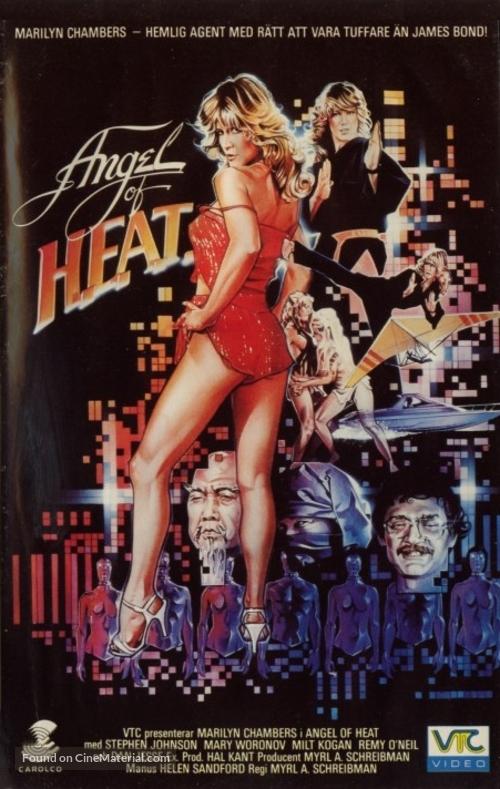 Angel of H.E.A.T. - Dutch VHS movie cover