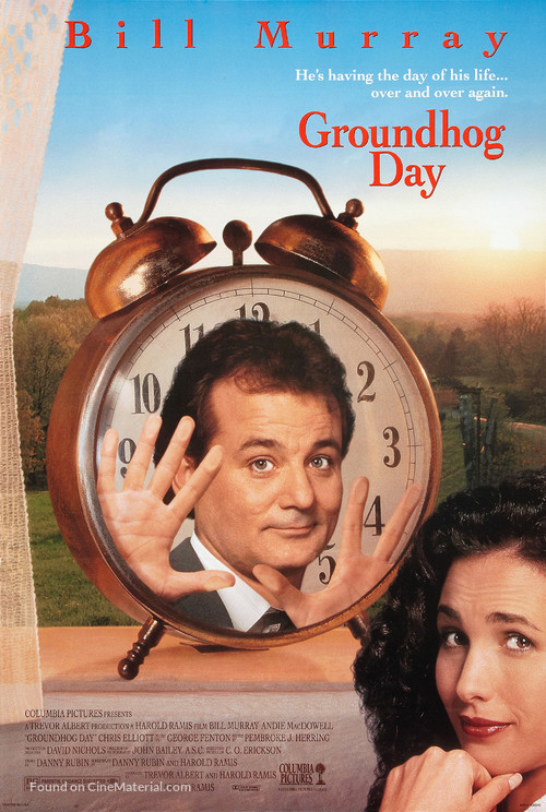 Groundhog Day - Movie Poster