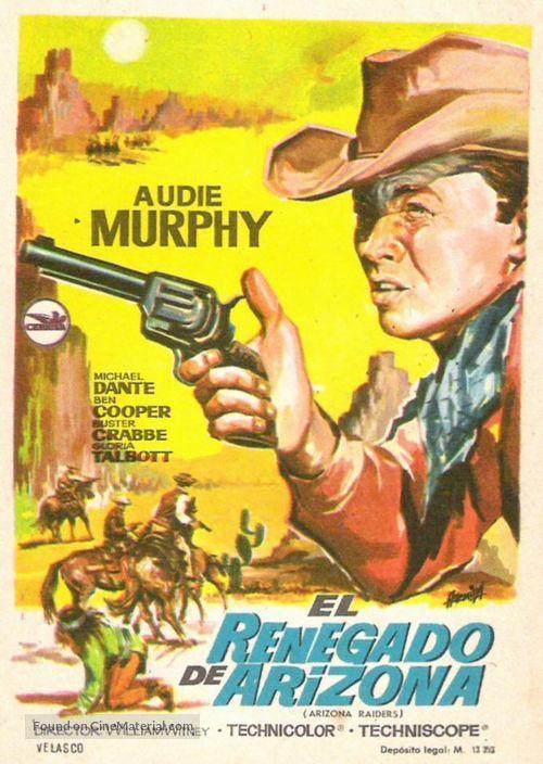 Arizona Raiders - Spanish Movie Poster