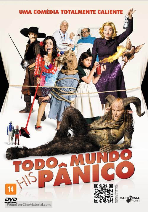 Spanish Movie - Brazilian DVD movie cover