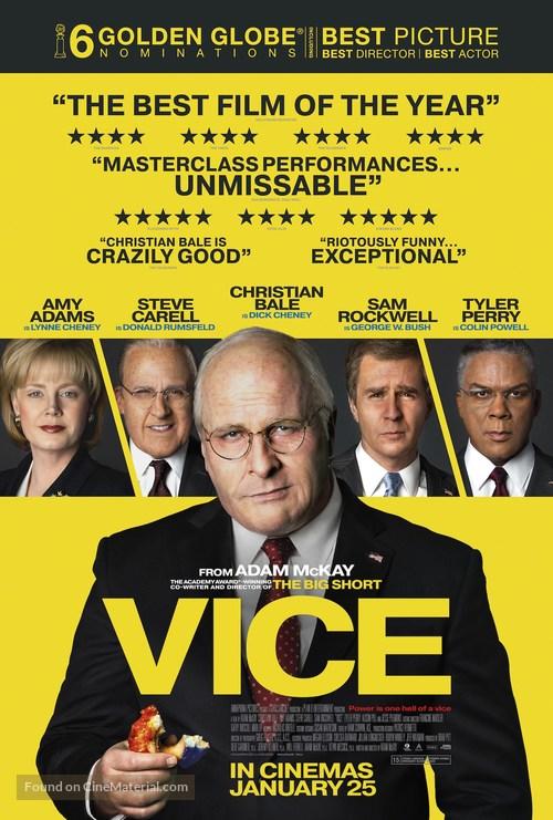 Vice - British Movie Poster