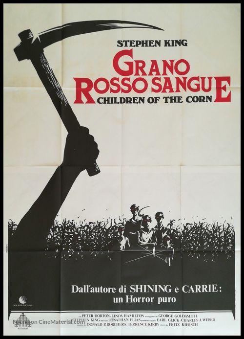 Children of the Corn - Italian Movie Poster