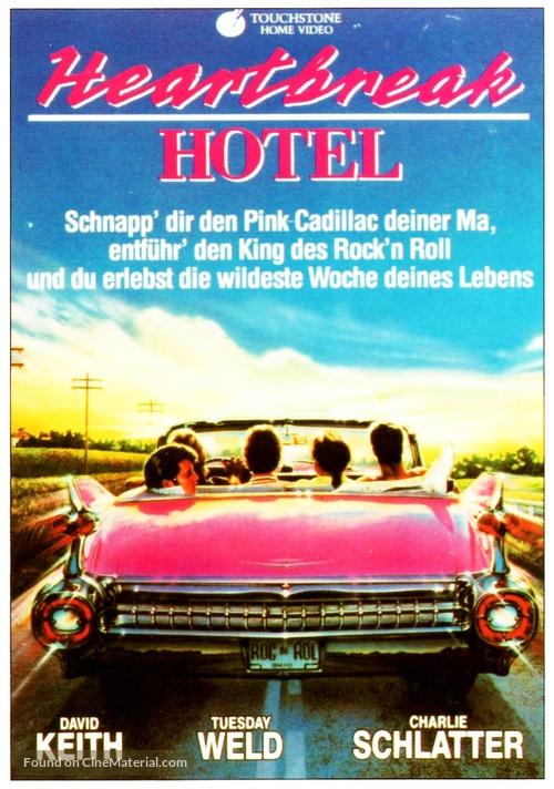 Heartbreak Hotel - German VHS movie cover
