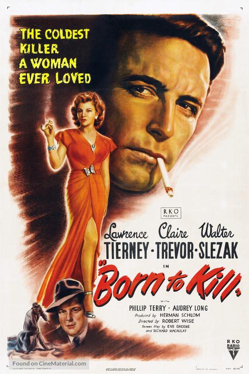 Born to Kill - Movie Poster