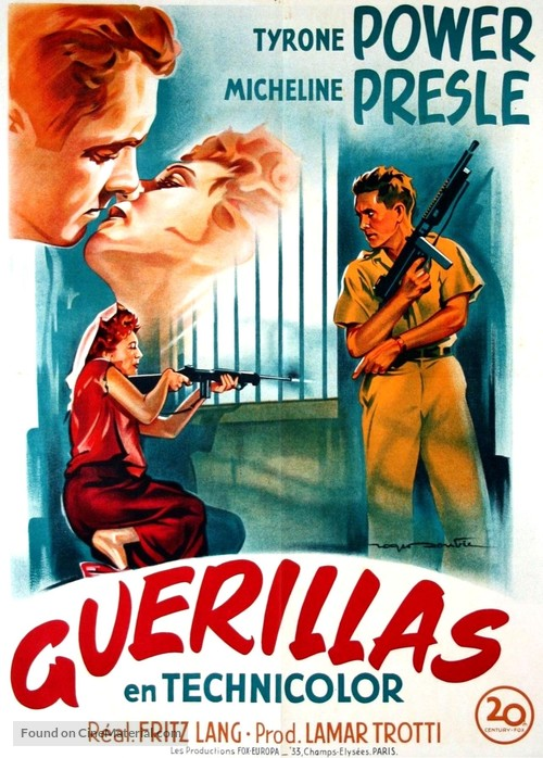 American Guerrilla in the Philippines - French Movie Poster