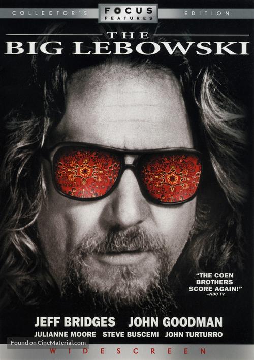 The Big Lebowski - DVD movie cover