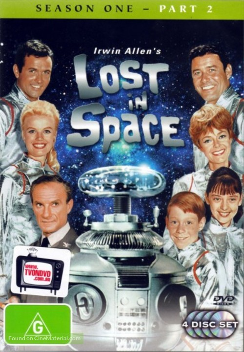 """Lost in Space"" - Australian DVD movie cover"