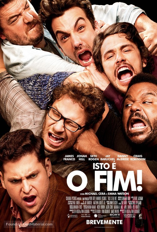 This Is the End - Portuguese Movie Poster